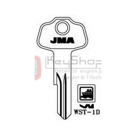 WST-1D JMA nøgleemne