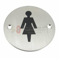 Toilet Dørskilte